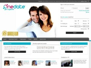 Onedate Site Review Post Thumbnail